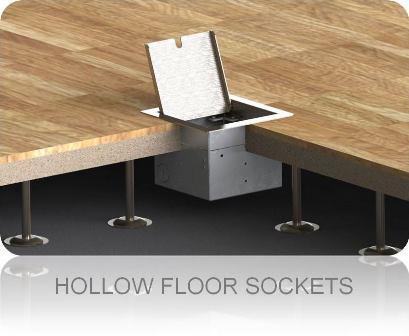 Hollow Floor Sockets