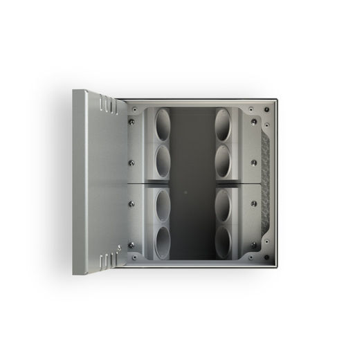 Floor box system with hinged lid (8908B)