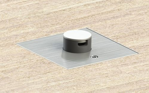 Floor box system with hinged lid (2004Q)