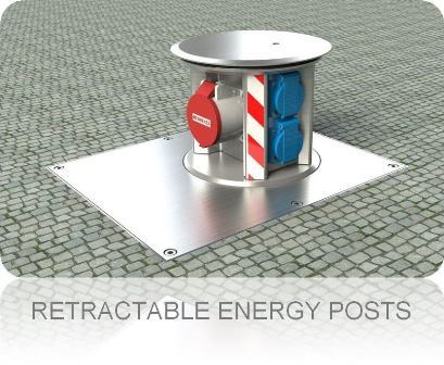 Retractable-Energy-Posts